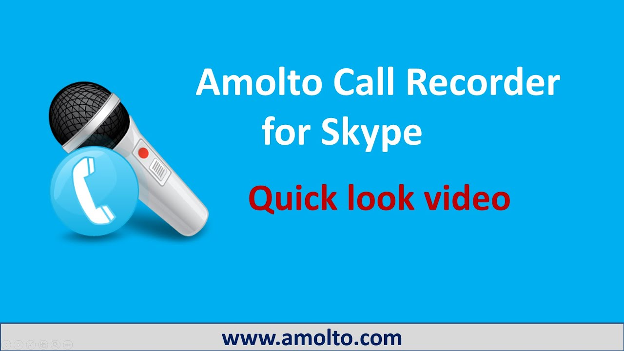 Products - Amolto Call Recorder for Skype (Free and Premium)