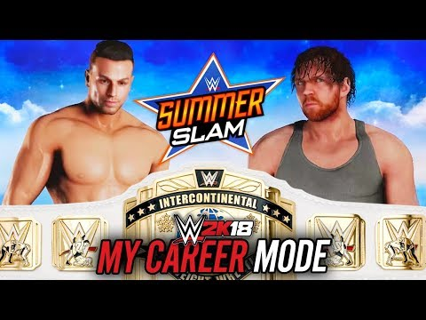 WWE 2K18 My Career Mode - Ep 28 - INTERCONTINENTAL TITLE MATCH!!