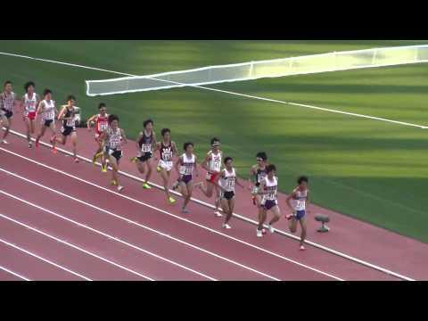 日本陸上 Men 10000m 決勝 Final Track Athletics 2013.6.8