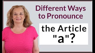 """2 ways native speakers pronounce the article """"a"""". #SHORTS"""