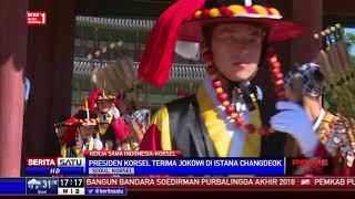 Jokowi, Presiden Pertama yang Disambut di Istana Changdeok