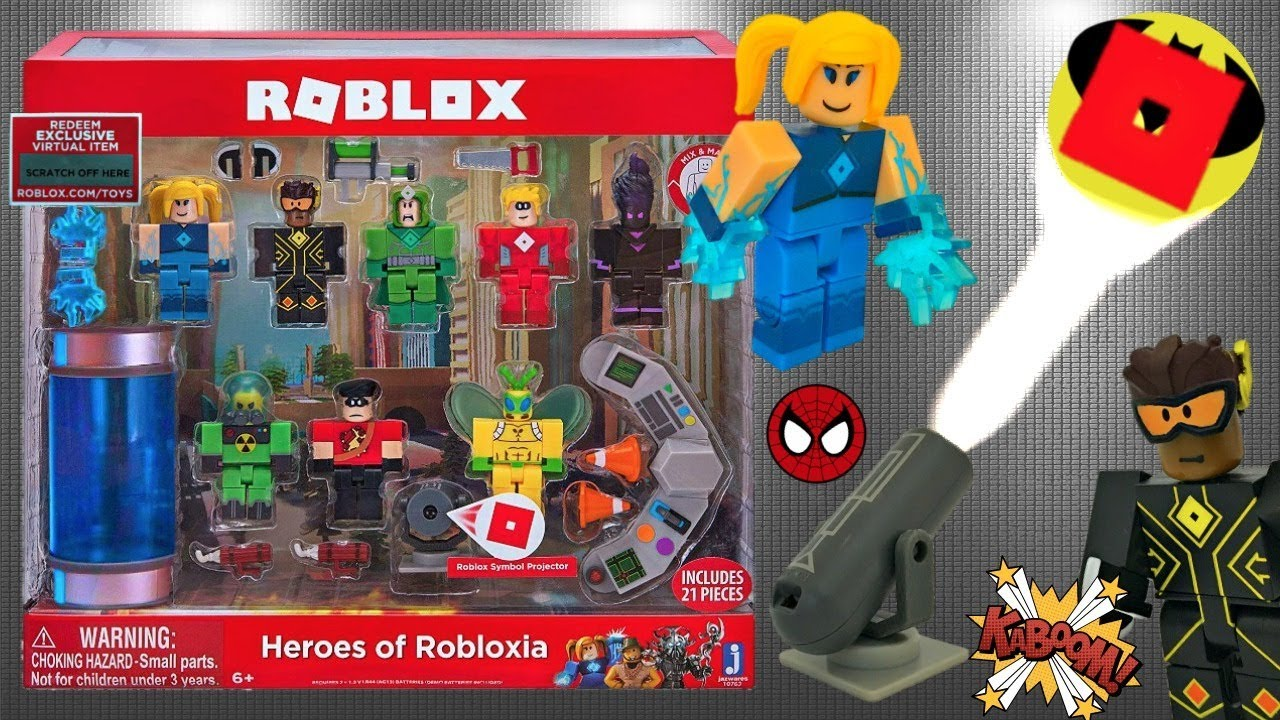 Amazoncom Roblox Toy Figures Playsets Toys Games Roblox Jailbreak Museum Heist Code Unboxing Youtube