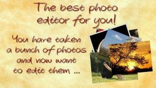 A Good Photo Editor for Me
