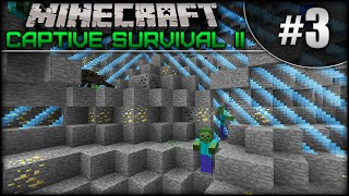 Minecraft: Captive Survival II - Episode 3 - Mob Spawner Galore!