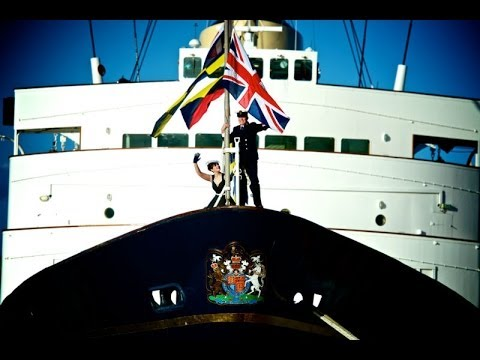 The Royal Yacht Britannia - a year in pictures 2013