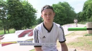 Sport extrême : Lucas Di Méglio, l'as de la trottinette
