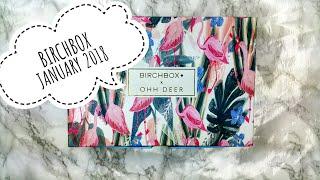 NEW BIRCHBOX 2018 | BEAUTY BOX | JANUARY 2018 | OHH DEER | UNBOXING | MISSYBEELONDON