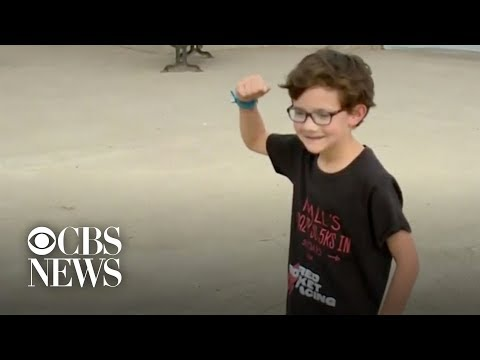 California boy completes 50 5Ks in 50 days in honor of grandfather