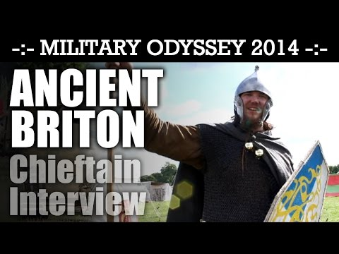 ANCIENT BRITON CHIEFTAIN Interview Military Odyssey 2014   HD Video