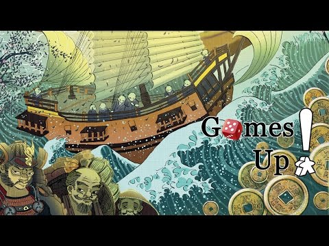 Traders of Osaka | Händler von Osaka - Let's Play and Review