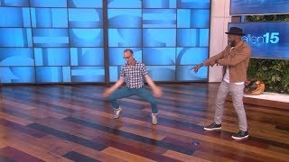 White Guys Can Dance... with tWitch!