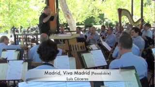 MADRID, VIVA MADRID. Pasodoble