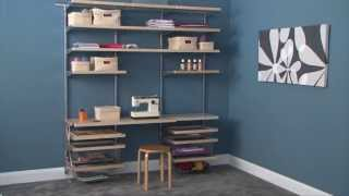 Howards - Elfa Customised Shelving Overview