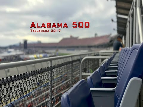 Alabama 500 at Talladega from the Stands 2017