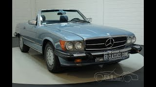 Mercedes-Benz 560 SL 1988-VIDEO- www.ERclassics.com