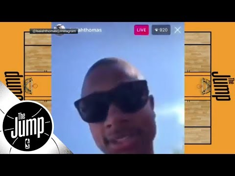 Isaiah Thomas apologizes after roasting Cleveland; should city accept apology? | The Jump | ESPN