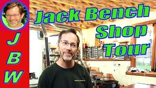Jack Bench Woodworking Shop Tour