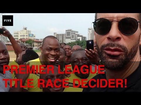 Premier League Title Race Decider! | Rio's Africa Vlog