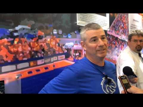Boise State basketball coach Leon Rice on controversial Colorado State ending
