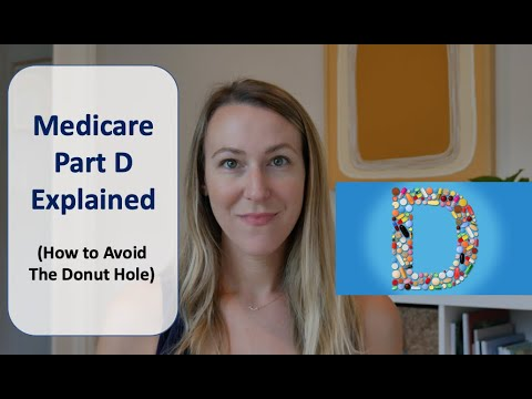 Medicare Part D Explained | (And How To Avoid The Donut Hole)