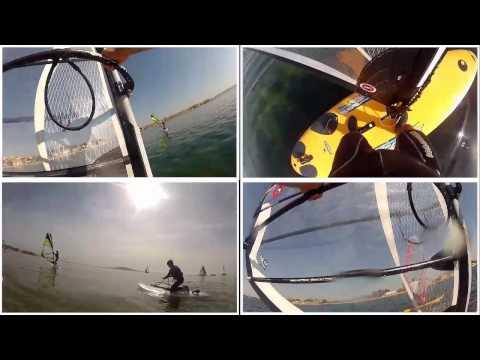 ** Collège Sainte Marie des Ursulines ** Voile et windsurf à Mèze au YCM (34)