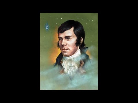 Robert Burns Art Exhibition -narrated by the artist Duncan Brown