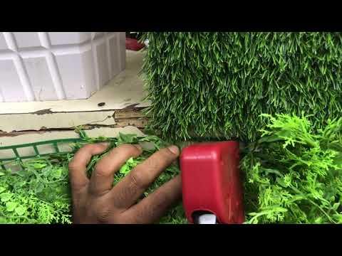 Artificial Vertical Garden | Artificial Green Wall | Artificial Grass | 1st Home Bangalore India