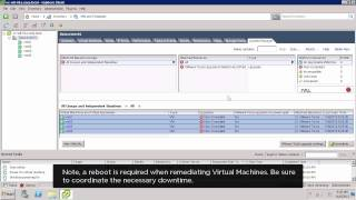 Upgrading VMware Tools Using vSphere Update Manager (VUM)