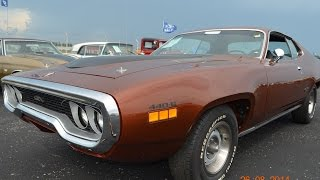1971 Plymouth GTX V code auto appraisal pre purchase at 2014 Auburn Auctions America RM