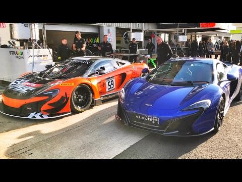 Just How Quick Is A McLaren Race Car: 650S vs 650S GT3 - YouTube