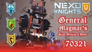 видео Роковое наступление генерала Магмара Nexo Knights