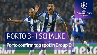 Porto vs Schalke (3-1) UEFA Champions League highlights