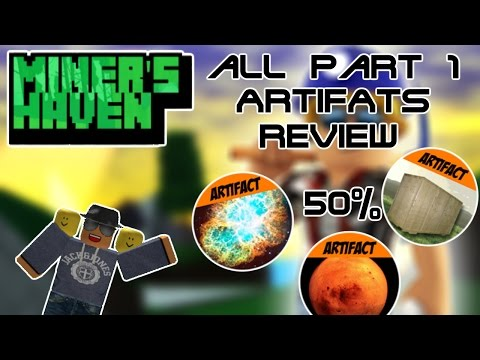 Miners Haven: All Artifacts part 1 Review