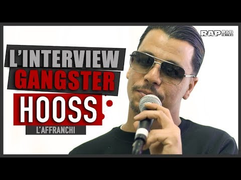 """Youtube: HOOSS: L'INTERVIEW GANGSTER! """"Mon gangster préféré? Je le connais personnellement…"""""""
