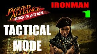Let's Play Jagged Alliance: Back In Action - Ironman Tactical Mode, 1.13 Patch - Intro