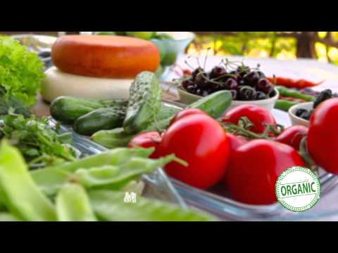 Organic vegetables at Monoprix Qatar
