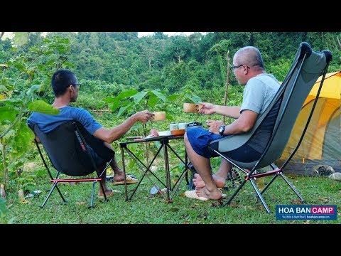 [Review] GHẾ DÃ NGOẠI SIÊU NHẸ | NatureHike NH18Y050 và NH18Y060