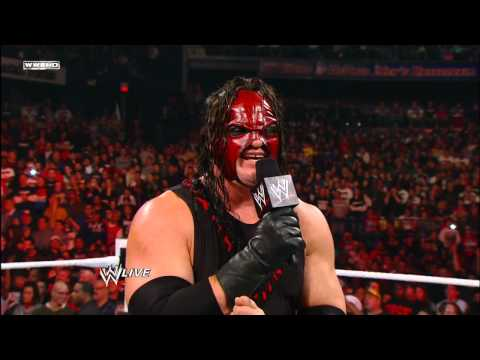 Raw - Kane tells John Cena why he