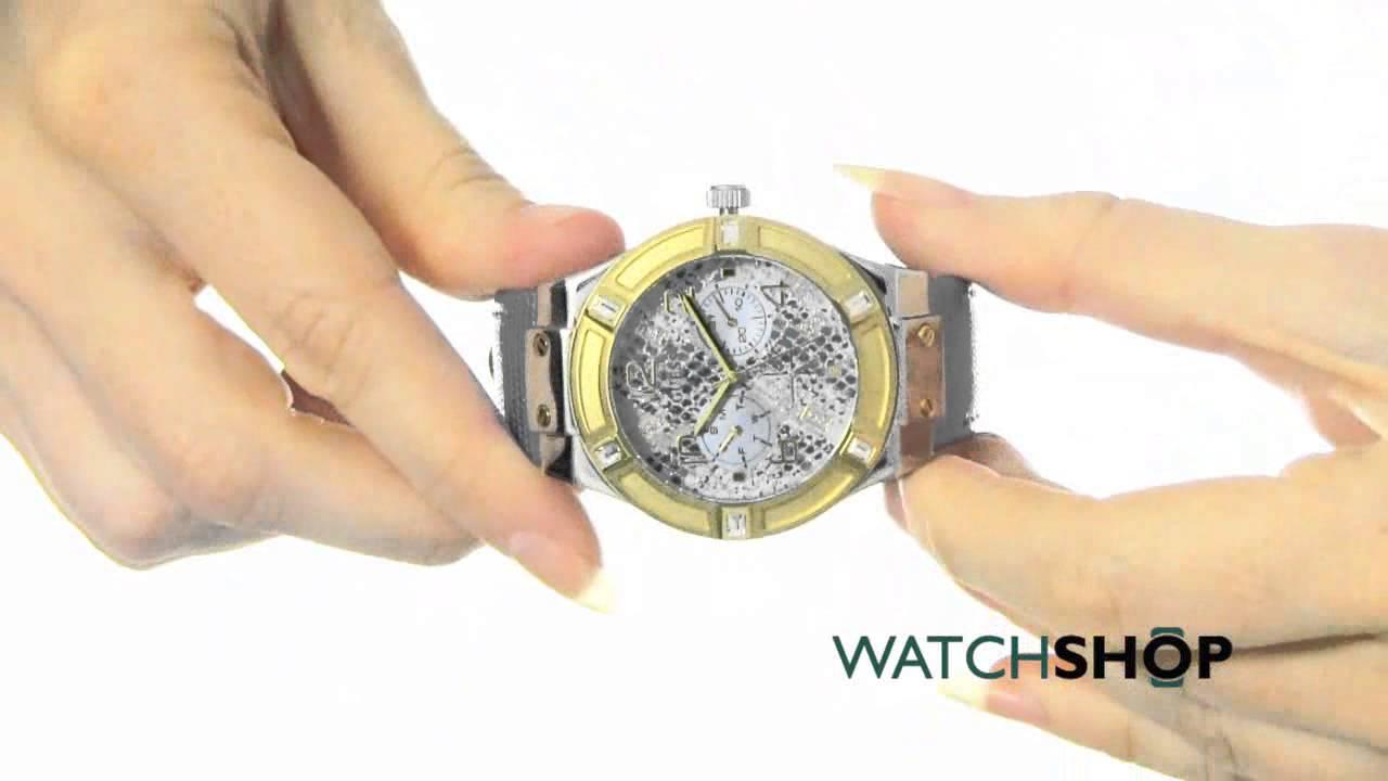 Guess blue Rigor men,s watch W0247G3 in HINDI - YouTube