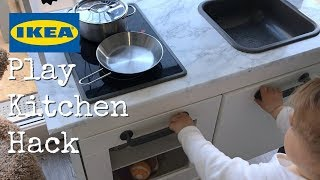 Contemporary IKEA Duktig Play Kitchen Hack - Mom style!