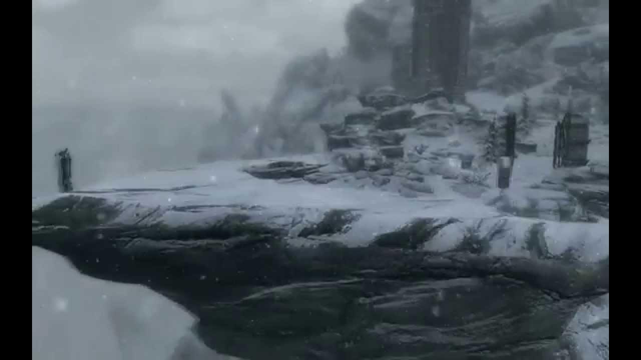 Skyrim попасть в высокий хроттгар