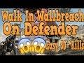 COD AW: BRAND NEW WALK IN WALLBREACH ON DEFENDER!