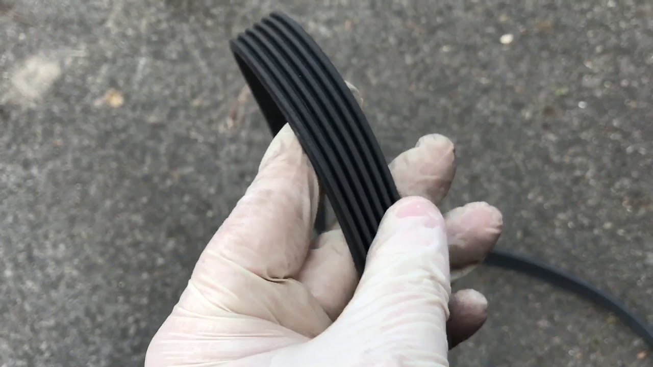 hight resolution of land rover freelander 2 auxiliary drive belt