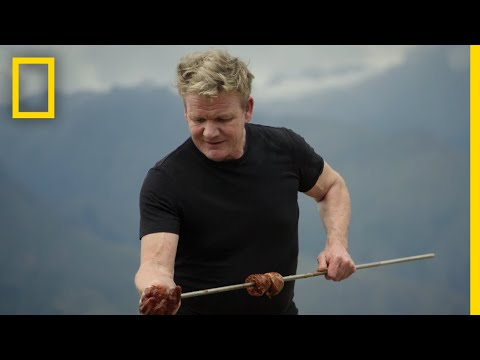 Ellen K Weekend Show - Watch The Trailer For Gordon Ramsay's New Show Uncharted