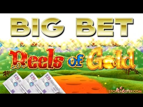Rainbow Riches Reels of Gold BIG BET with FREE SPINS + BONUS SLOT - 동영상