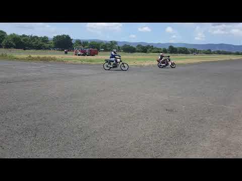 Moto velocidad en pista los brasiles, Nicaragua