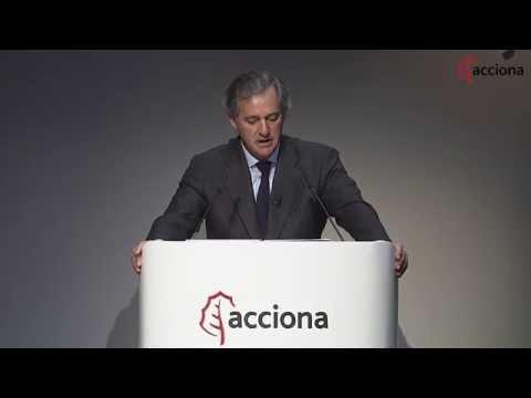 Junta General de Accionistas de ACCIONA 2016