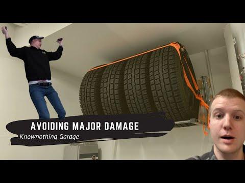 Avoiding Major Damage - Tire Rack Install