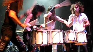 "Halestorm ""drum circle""/solo in ATL at the Tabernacle"