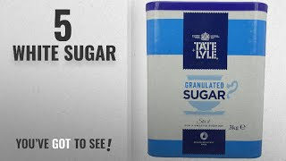 Top 10 White Sugar [2018]: Tate and Lyle Fairtrade Granulated Pure Cane Sugar Drum with Handle 3 kg